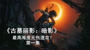 純黑《古墓麗影:崛起》第六期 攻略向最高難度直播錄像