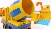 小伊游戲 兒童玩具混凝土攪拌機