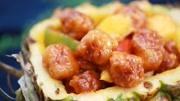 酸甜可口的菠蘿咕咾肉